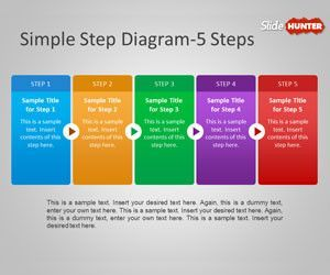 Free arrows powerpoint templates free ppt powerpoint free simple step diagram for powerpoint is a powerpoint presentation template with simple horizontal step diagrams and arrows between the steps toneelgroepblik Images