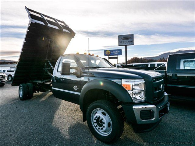 2014 Ford Super Duty F 550 XL 4WD Regular Cab With A 14 Foot