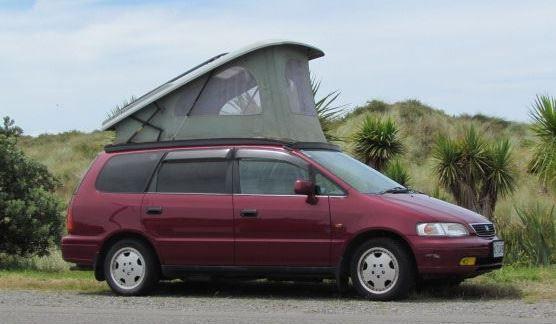 Converting A Honda Odyssey Into A Camper Google Search Minivan
