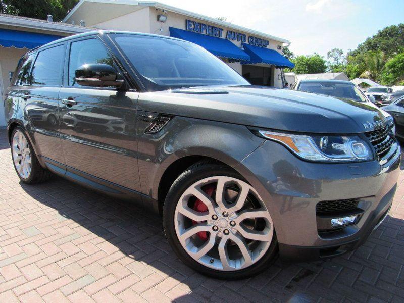 loaded 2016 Range Rover Sport 4WD V8 offroad Range rover