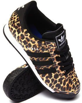 cheap for discount e1de6 ea181 Classic Samoa sneakers by Adidas with a twist of the wild side. Get your  sneaker game up.
