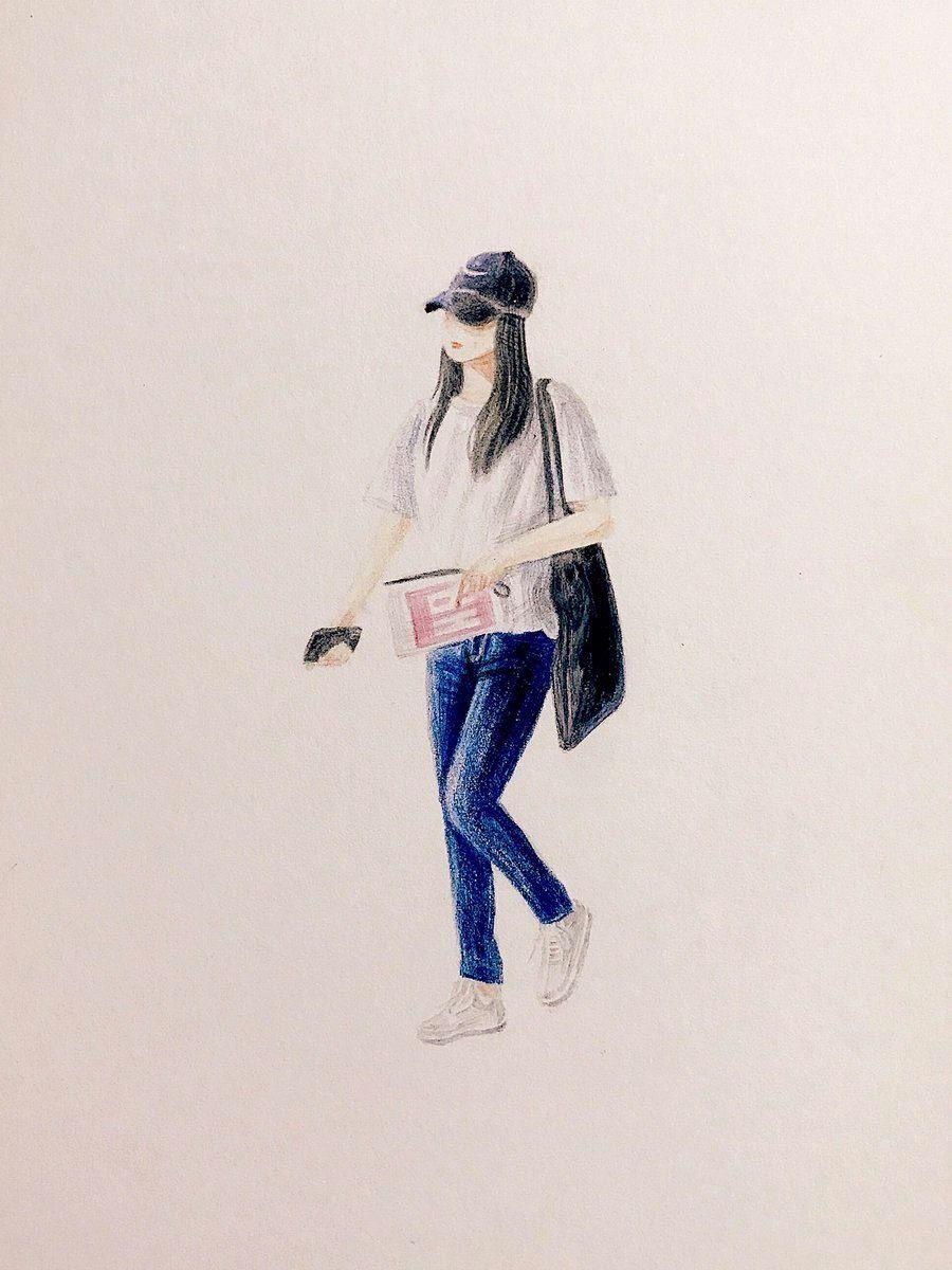Pin oleh BaekYeon_shipper di Red Velvet fanart Animasi