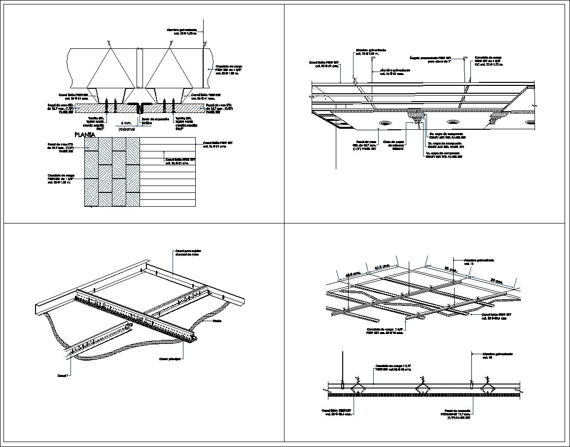 Ceiling Details Design Ceiling Elevation Ceiling Detail