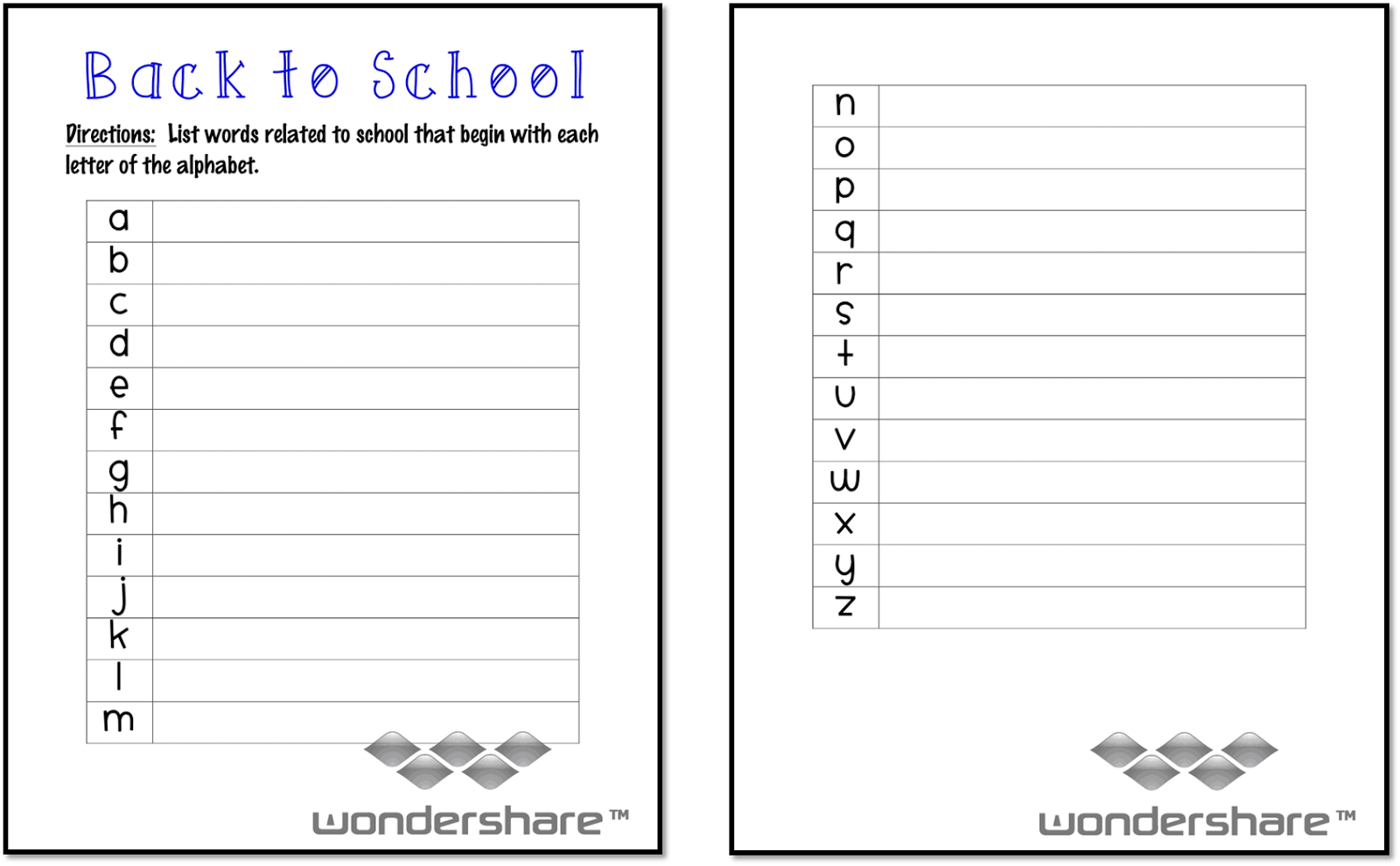 worksheet 5th Grade First Day Of School Worksheets ms third grade beginning of the school year freebies begin back to freebie