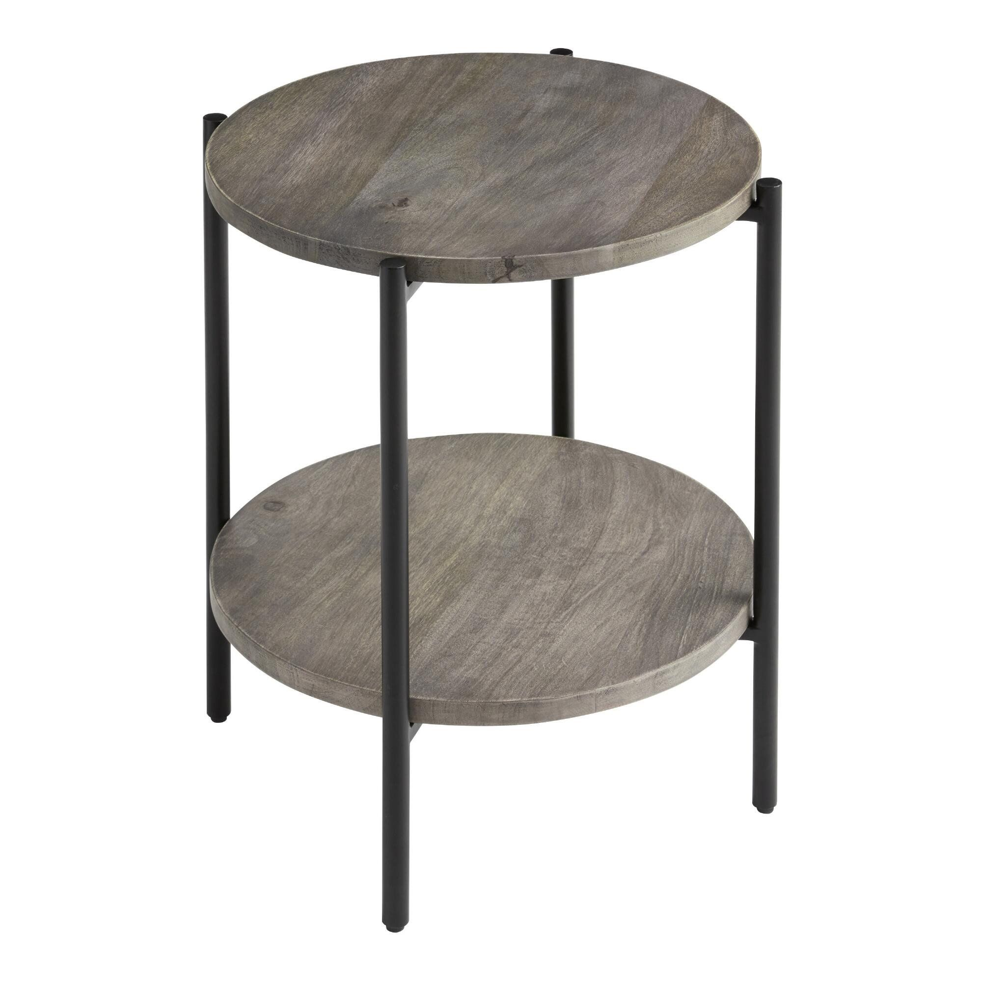 Windham Side Table Gray Threshold Wooden Side Table Grey Side Table Side Table Wood