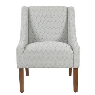 Shop for HomePop Modern Swoop Accent Chair. Get free shipping at Overstock.com - Your Online Furniture Outlet Store! Get 5% in rewards with Club O! - 23451304