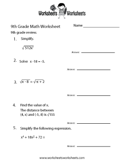 9th Grade Math Worksheets Free Printable Worksheets For Teachers And Kids 9th Grade Math Probability Worksheets Math Practice Worksheets