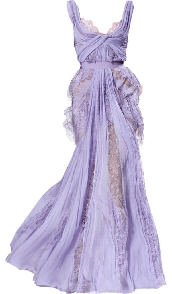 """""""lilac gown"""" by ltrumpow ❤ liked on Polyvore"""