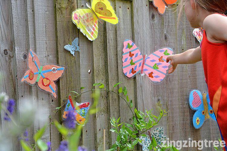 Garden Butterfly Craft