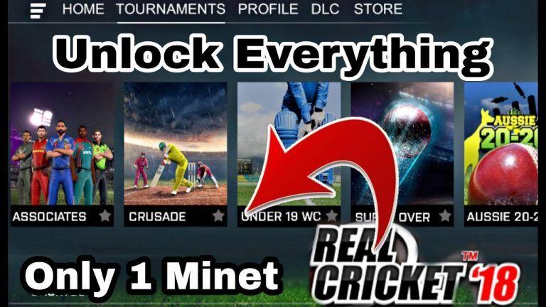 Real Cricket 18 Hack APK - Get 9999999 Coins and Ticket [No