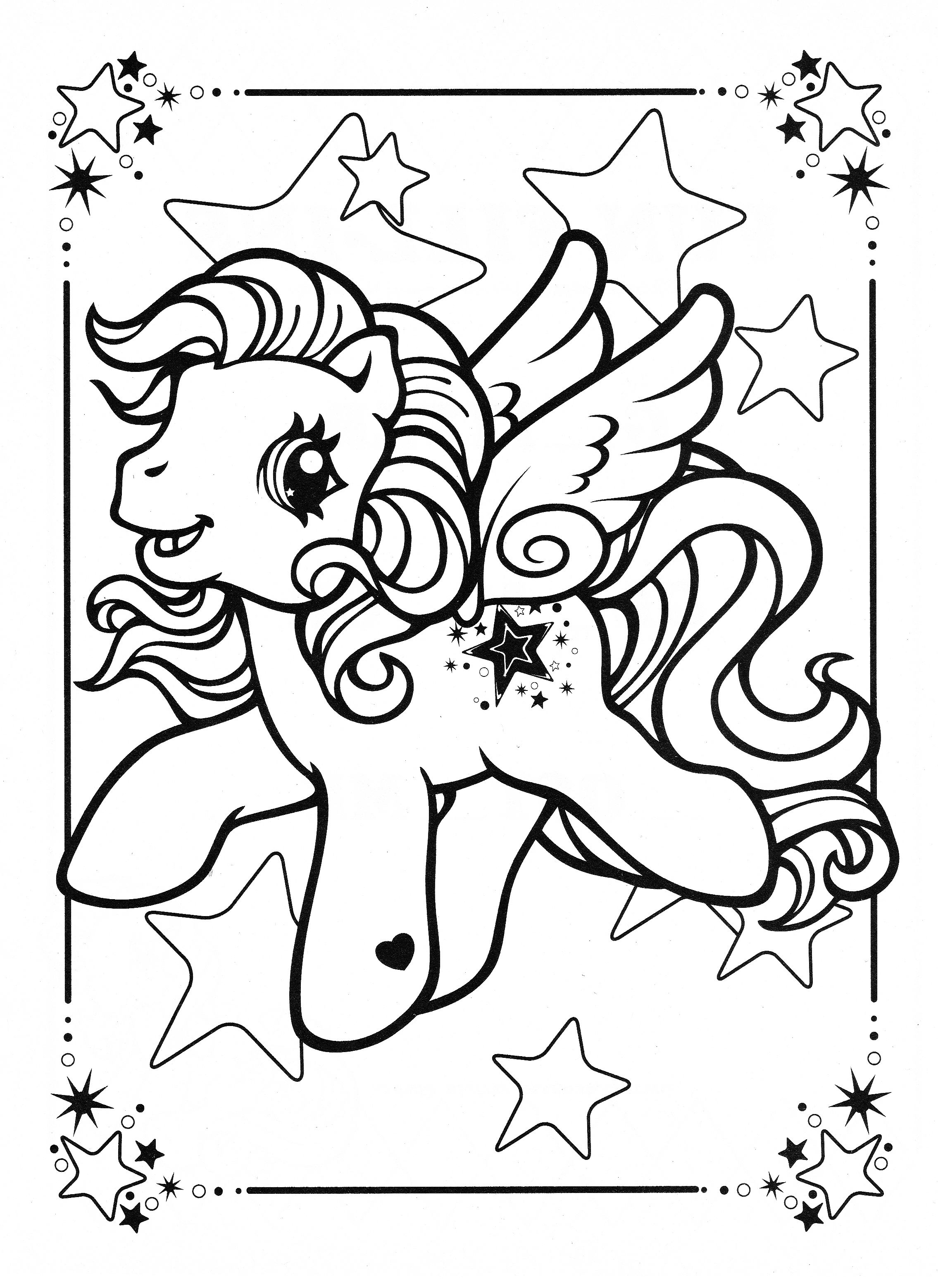 My Little Pony Coloring Page Mlp Star Song My Little Pony Coloring Unicorn Coloring Pages Coloring Books
