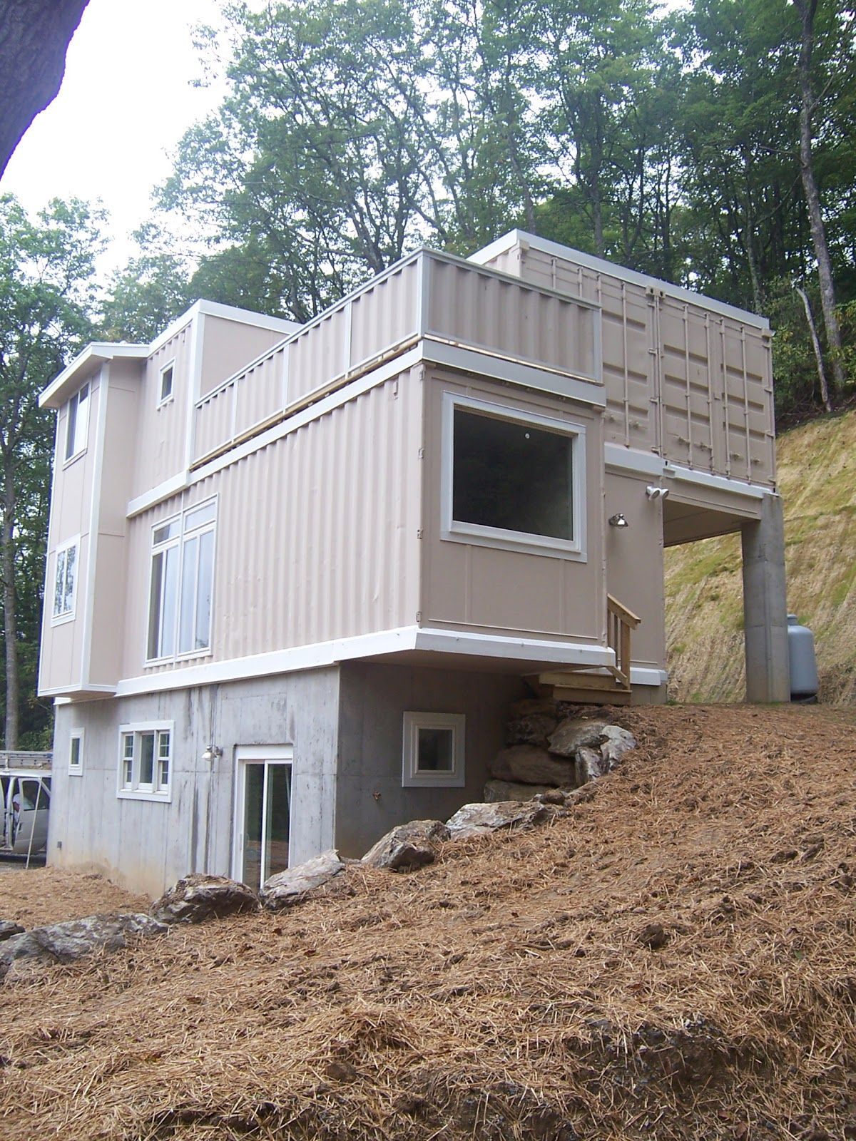 shipping container homes: high country green boxes, dwellbox