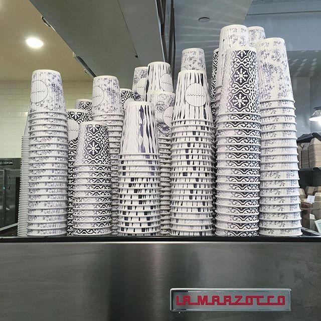 #papercup #nyc #nyc #nyccoffeeshop #lamarzocco