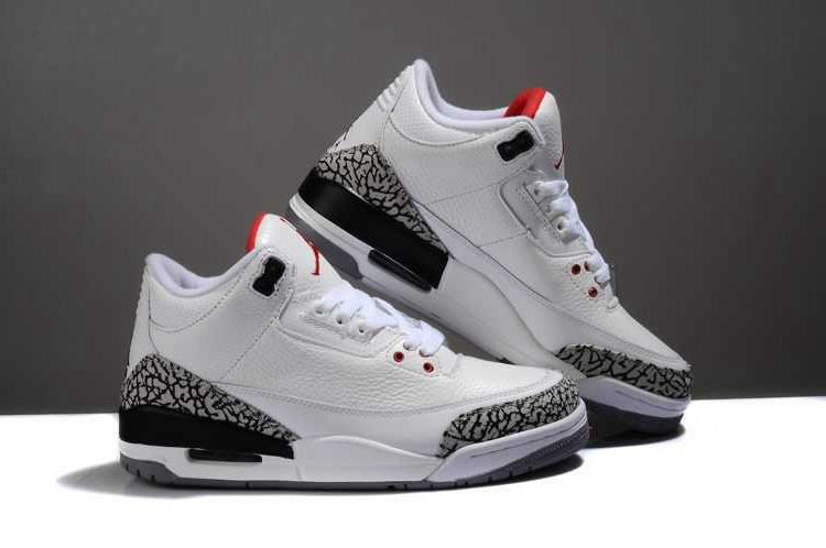 huge discount 7f8bc a3a0a Nike Air Jordan 3 Mens Retro Limited Edition White Black ...