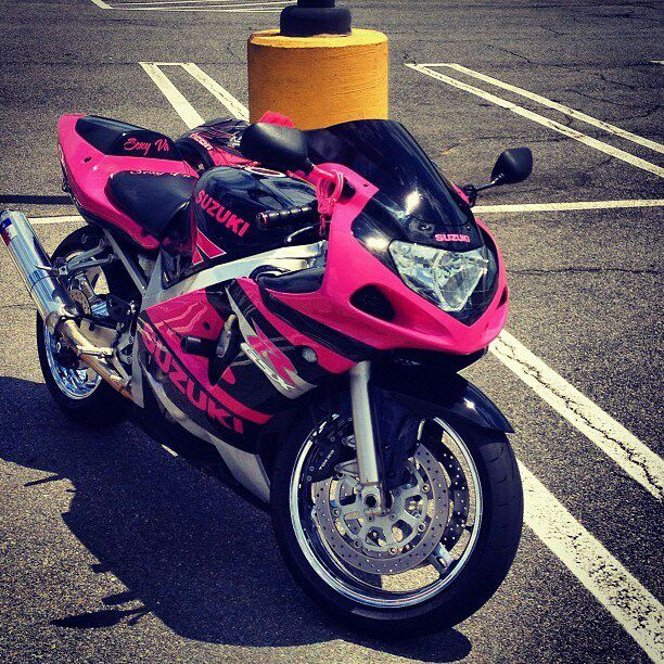 Cars Motorcycles That I Love: I Would Love To Get Pinky Motorcycle So That Way People