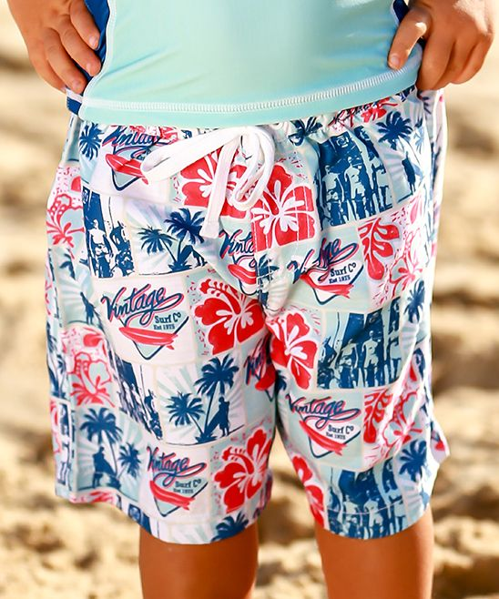 dbe18ef743 Vintage Patchwork Boardshorts - Infant Toddler & Boys | Products in ...