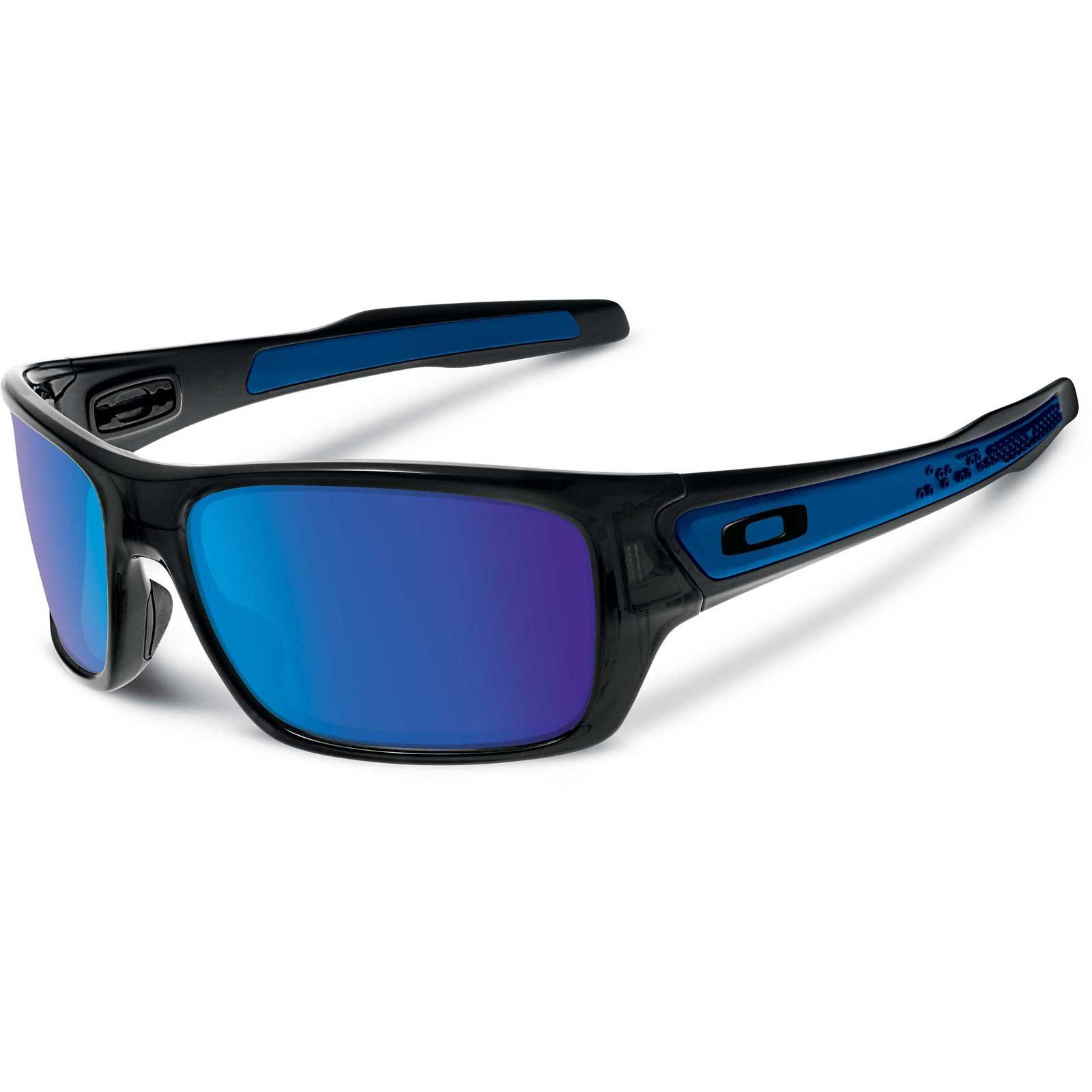 79c9a6c527 Oakley Men s Turbine OO9263-05 Iridium Rectangular Sunglasses