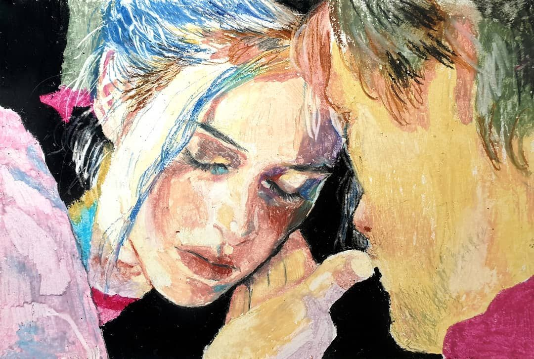 Eternal Sunshine Of The Spotless Mind Oil Pastel Drawing By Soul