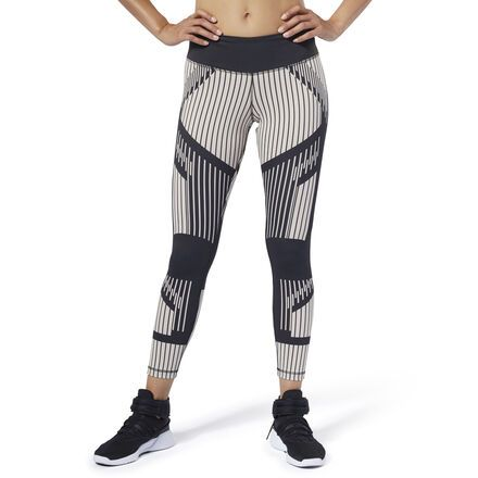 Reebok Womens Bold Workout Tights