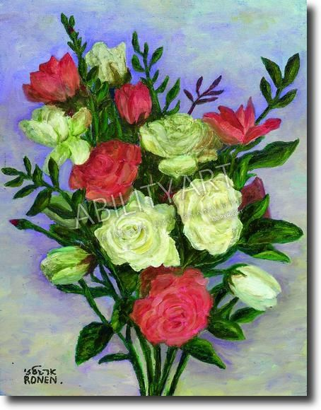 Ha Fiori Bianchi E Rosa.Composizione Di Fiori Bianchi E Rossi Composizioni Di Fiori