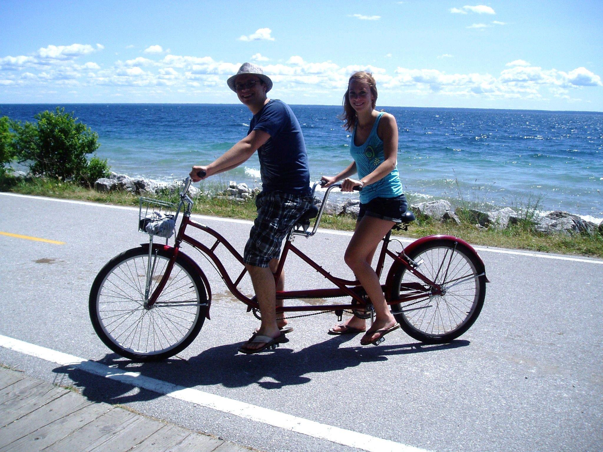 Bikes / 1st Mackinac Island Bike Culture story in US Bike ... |Mackinac Island Bicycle Cafe