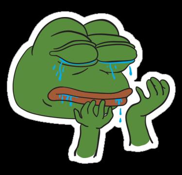 Crying Jordan Meme Stickers Redbubble Crying Meme On Me Me