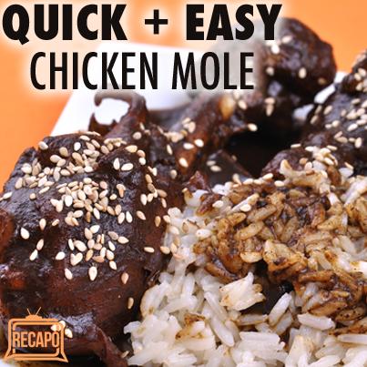 Mole Food Ideas
