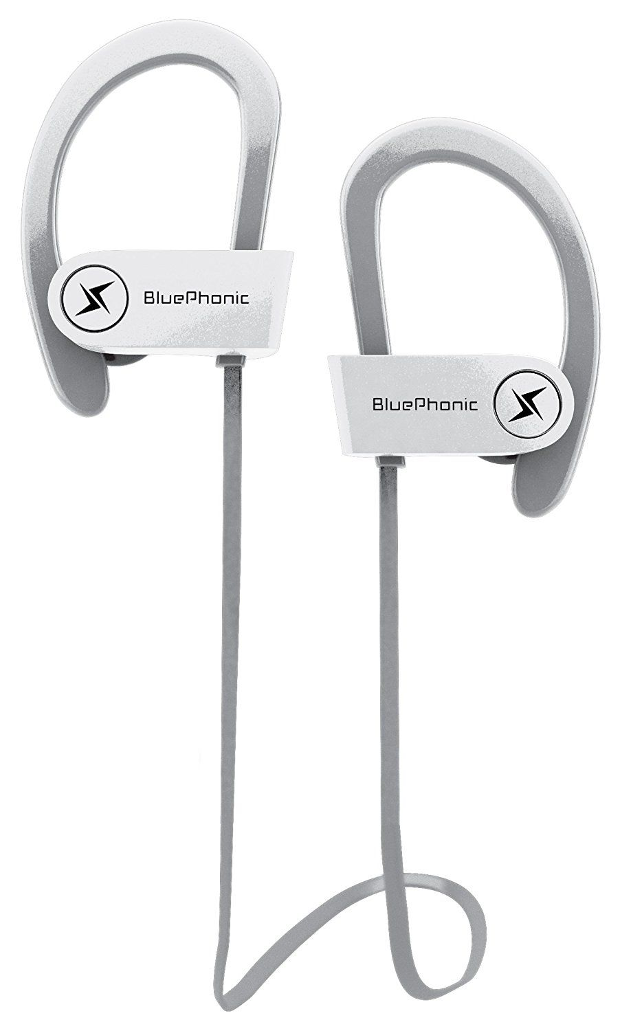 a97db1a6333 ... Sound Quality - Sweat Proof Stable Fit In Ear Workout Earbuds -  Ergonomic Running Earphones - Noise Cancelling Microphone w/Travel Case -  by Bluephonic