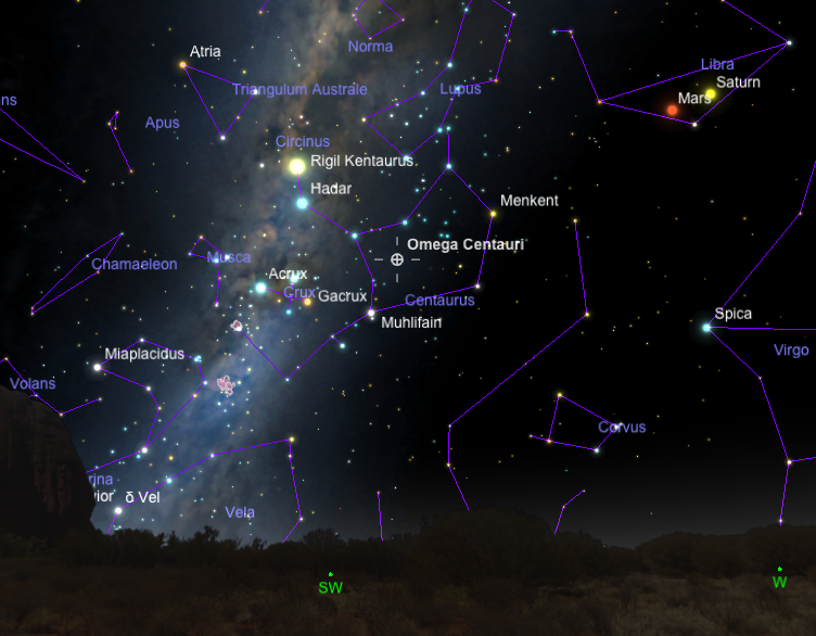in the southern sky. Arguably one of the most beautiful is ...