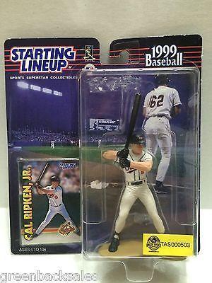 (TAS000503) - MLB Starting Line-up Action Figure - Cal Ripken, Jr. - Orioles