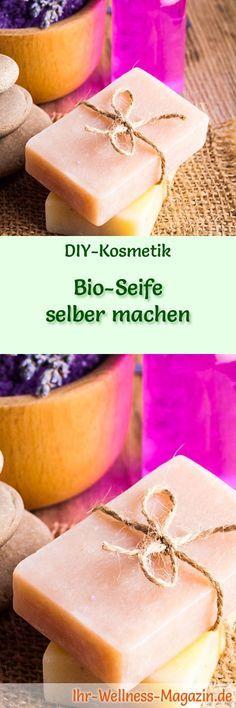 bio seife selber herstellen seifen rezept anleitung diy kosmetik pinterest. Black Bedroom Furniture Sets. Home Design Ideas