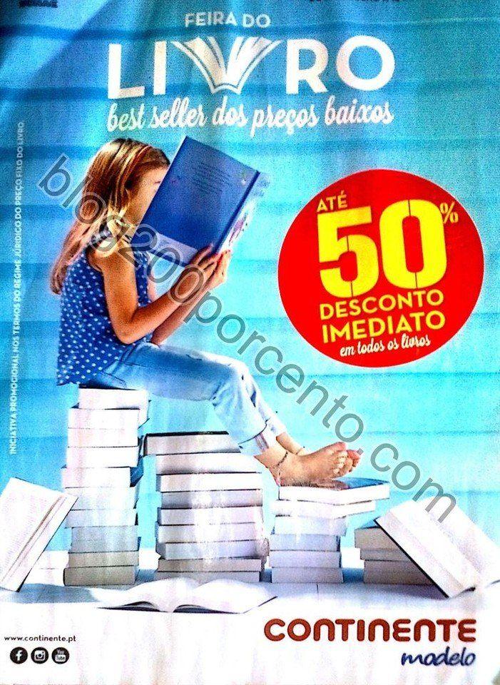 Antevisão Folheto CONTINENTE- MODELO Feira do Livro de 26 julho a 14 agosto - http://parapoupar.com/antevisao-folheto-continente-modelo-feira-do-livro-de-26-julho-a-14-agosto/
