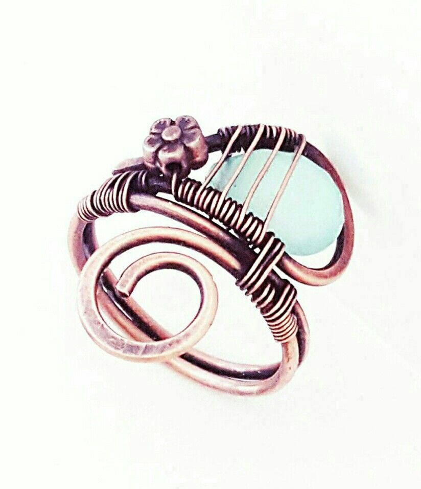 Pin by HroweJewelry on rings   Pinterest   Wire wrapping, Wraps and ...