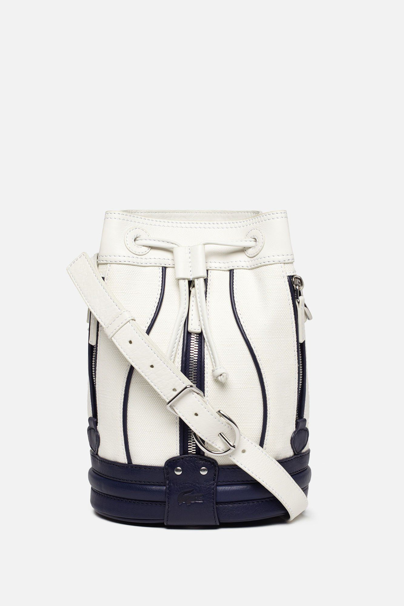 Lacoste Cathy Toile Small Bucket Bag : Bags & Wallets