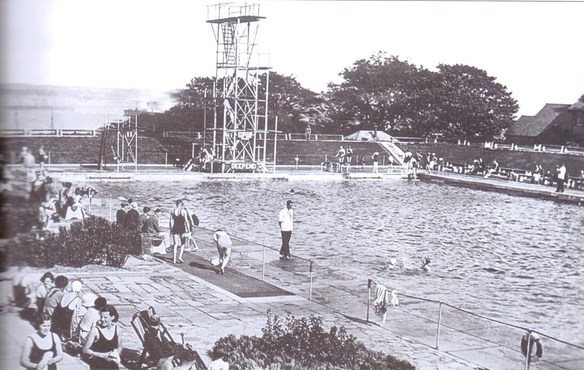 New Ferry Baths | old photos of wirral | Pinterest
