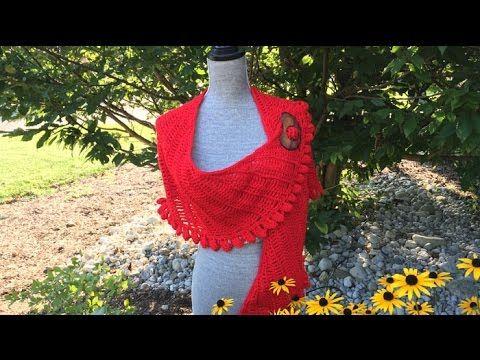 Como tejer chalinas lindas fáciles y rápidas - Make Knitting cute shawls easy tutorial - YouTube