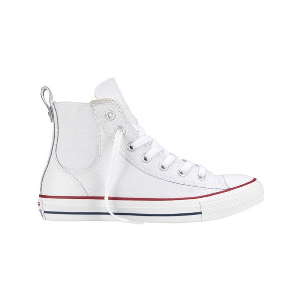 Women's Converse Chuck Taylor All Star Chelsee High Top Casual ($65) ❤ liked on Polyvore featuring shoes, sneakers, casual, casual shoes, high top shoes, converse high tops, high top sneakers, high top trainers and converse shoes
