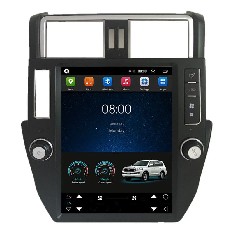 12 1 Tesla Vertical Screen Android Car Radio Audio Sat Nav