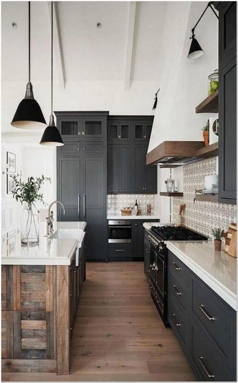 65 popular rustic kitchen cabinets design ideas 2 on gorgeous modern farmhouse entryway decorating ideas produce a right one id=31041