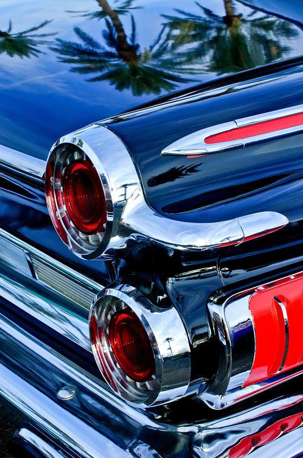 1962 Dodge Polara 500 Taillights by Jill Reger