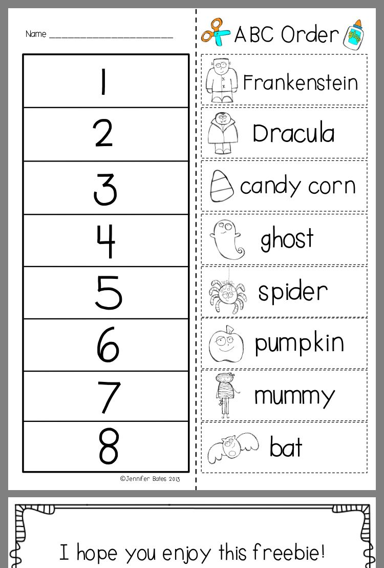 Pin By Sheila Harrison Bentley On School Abc Order Alphabetical Order Worksheets Word Work