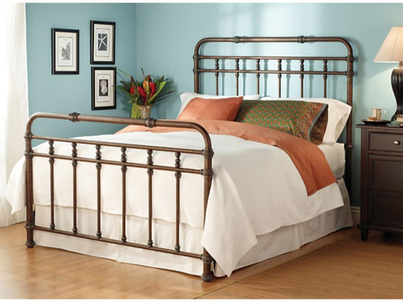 Laredo Bed By Wesley Allen Bedrooms More Seattle Iron Bed Frame Iron Bed Wesley Allen Iron Bed