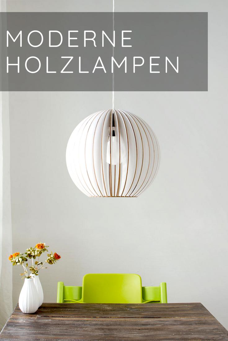 hängelampen | satamo.de | lampe holz wohnzimmer, lampen