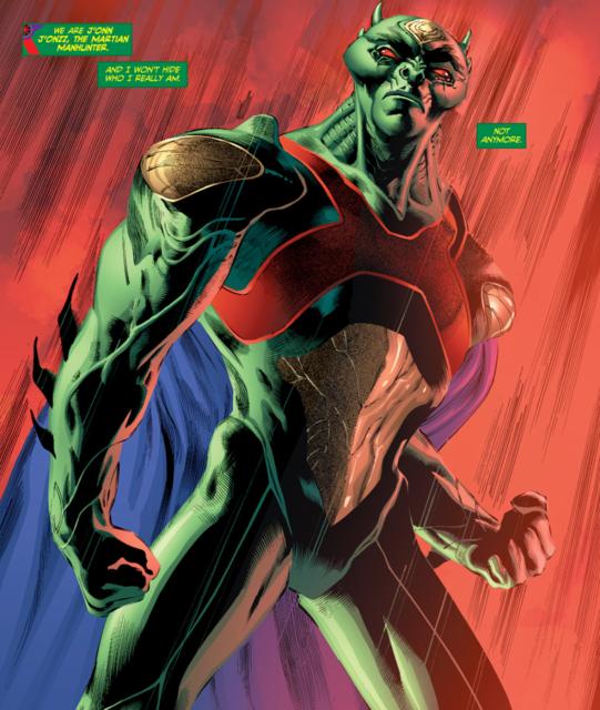 Dc Comics Characters Martian Manhunter Comics Dc Comics Characters