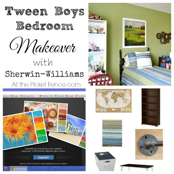 Tween Bedroom Makeover Plans & Giveaway is part of Tween bedroom Makeover - A tween bedroom makeover is a great way to bond with your child and when they can use fun new technology to pick paint colors they will definitely be on board!