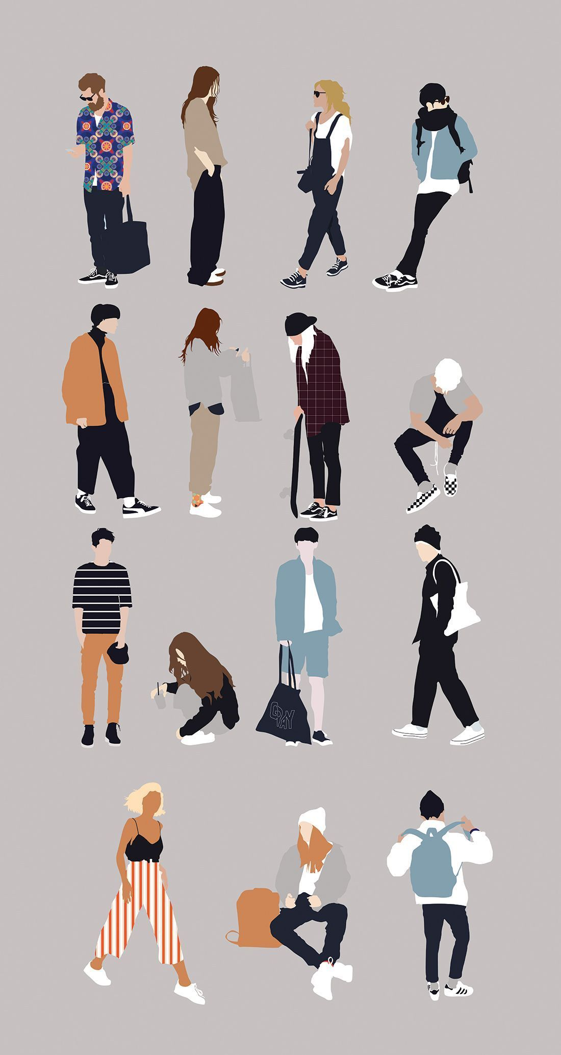 Flat Vector People Illustration – Famous Last Words