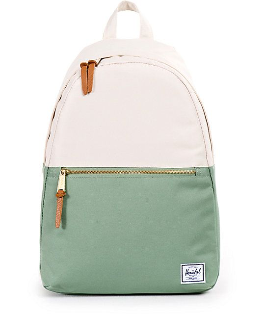 5c07545b2ec9 Herschell    This mid-size backpack is made with a clean and temporary  silhouette with a colorblock design for a stylish look
