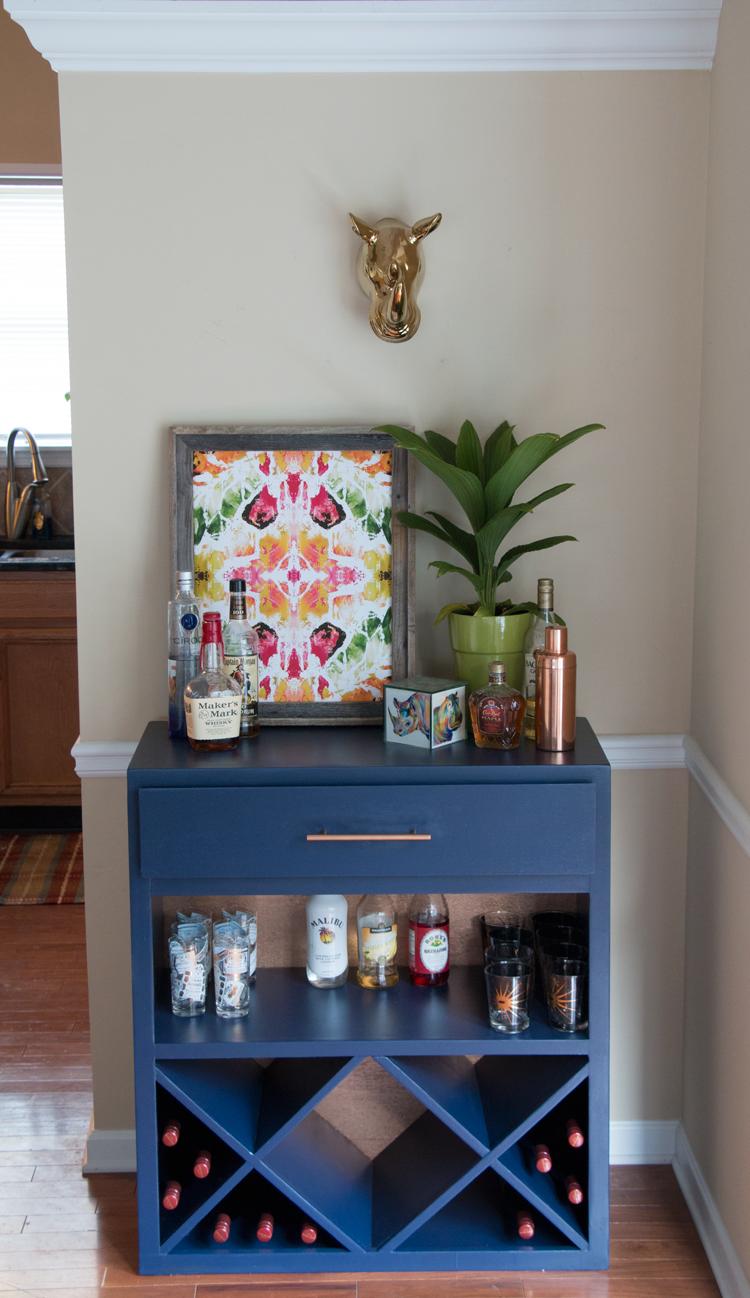 Bar cabinet makeover home accents pinterest bar diy furniture