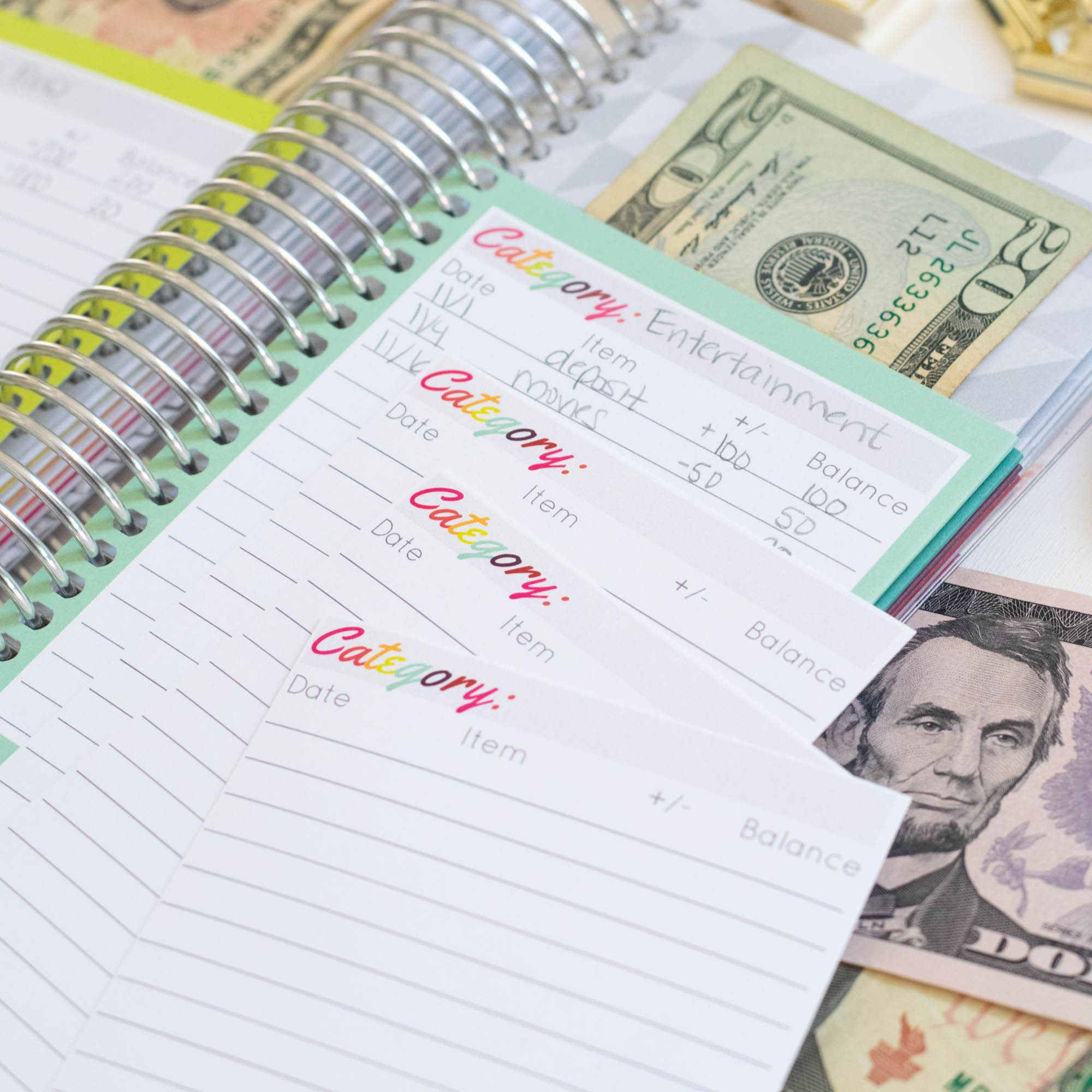 Spend Well Budgeting System Farmhouse Cash Envelope System