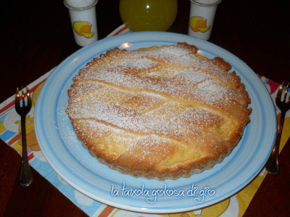 Crostata alla crema di limone deliziosa ricette per for Cucinare per 50